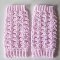 Picot Baby Leg Warmers