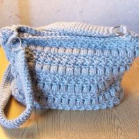 Puffy Seed Stitch Purse