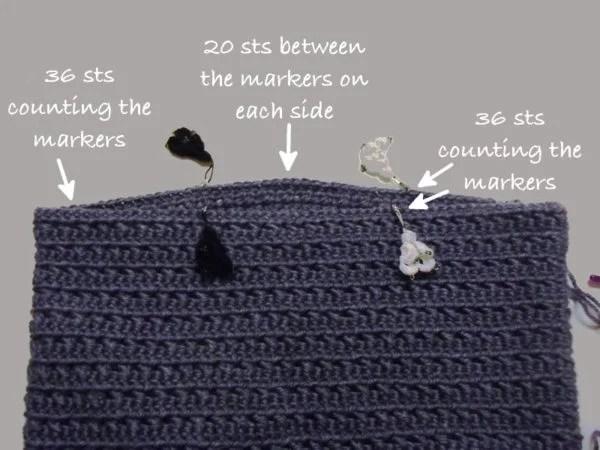Crochet Handbag Patterns For Beginners : Moss Stitch Beginner Crochet Bag ~ FREE Crochet Pattern