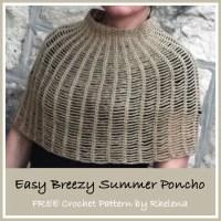 Easy Breezy Summer Poncho