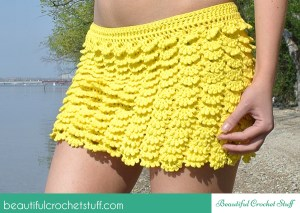 Layered Crochet Skirt ~ Beautiful Crochet Stuff