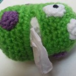 Germ Tissue Holder ~ Crochet Dynamite