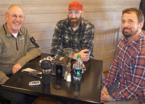 L to R: Jeff Docken, Marty Larson, Jeremy Bokman