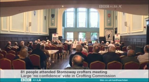 Crofting Convener must go - says Lewis and Harris Crofters Meeting