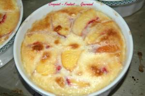 Crème renversée aux pêches jaunes - septembre 2009 036 copie