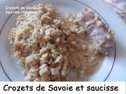 Crozets de Savoie et saucisse italienne Index DSCN6809_26929