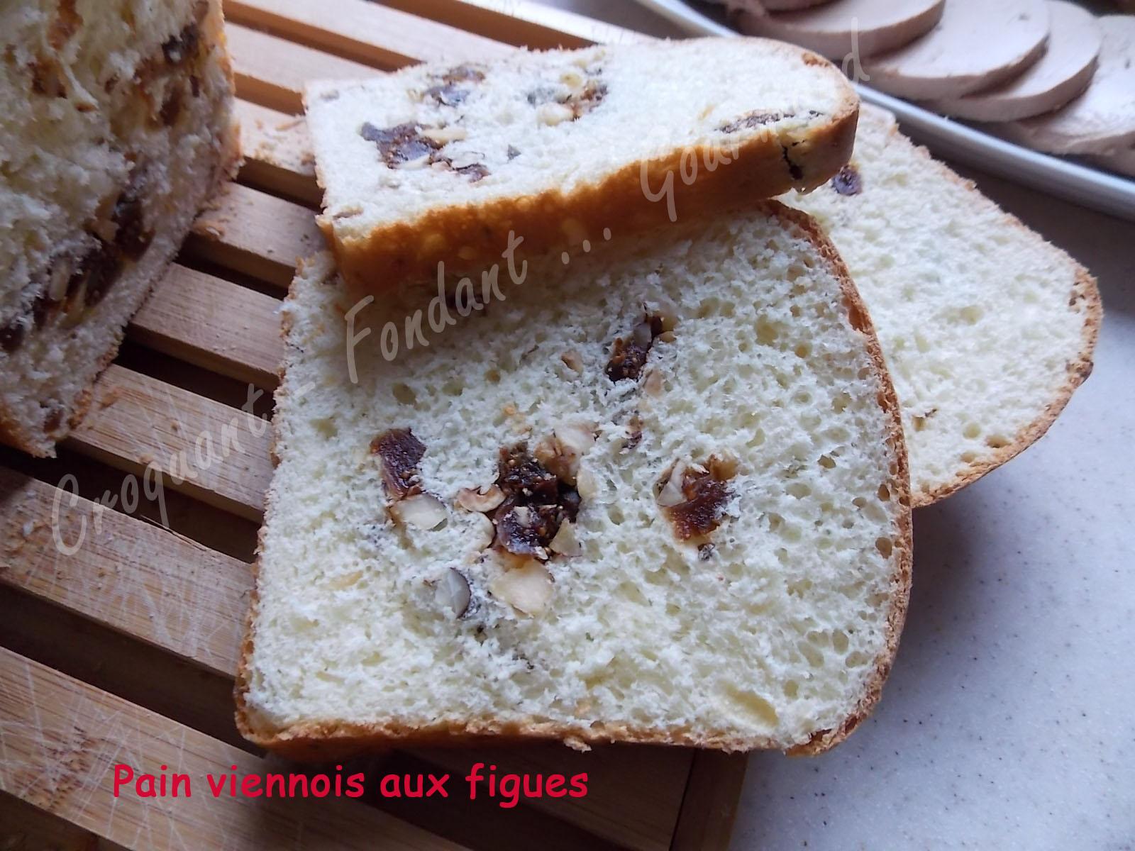 pain viennois aux figues croquant fondant gourmand. Black Bedroom Furniture Sets. Home Design Ideas
