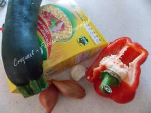 Blé pilaf aux petits légumes DSCN9267