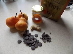 Dôme poire-chocolat DSCN1323