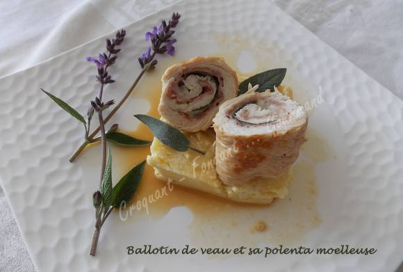Ballotin de veau et sa polenta moelleuse DSCN3369