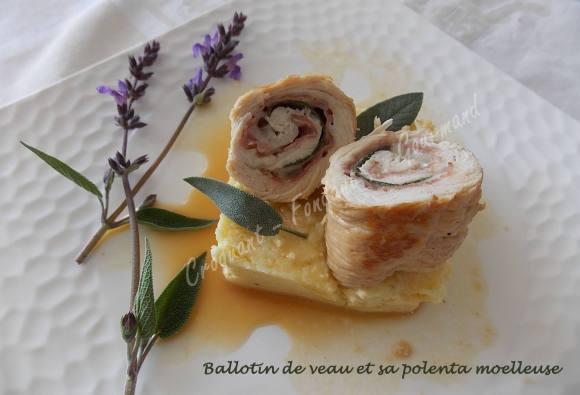 Ballotin de veau et sa polenta moelleuse DSCN3372
