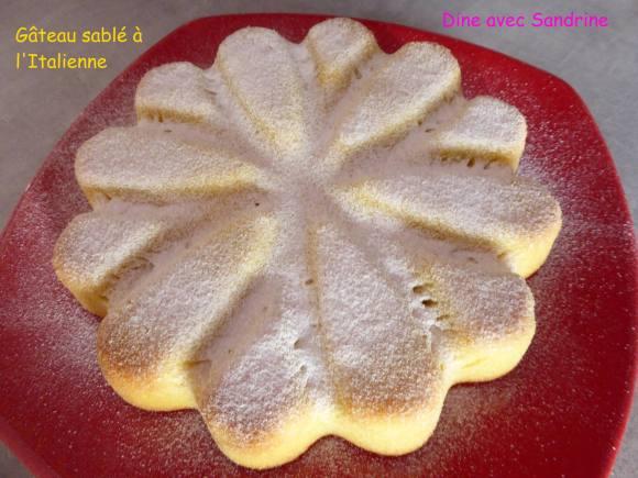Gâteau sablé à l'Italienne à vous de jouer Dine avec Sandrine 10