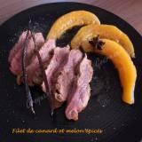 Filet de canard et melon épicés DSCN5738