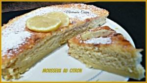 Mousseux au citron à vous de jouer Miechambo cuisine 115784990
