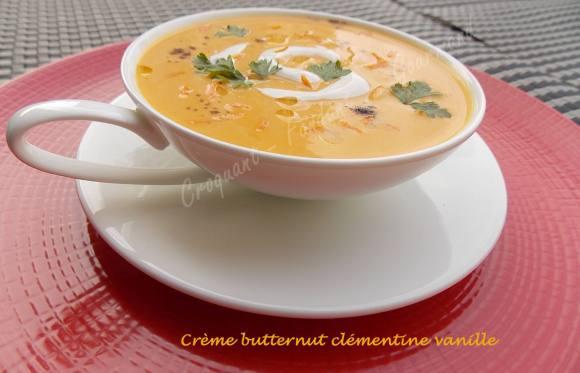 Crème butternut clémentine vanille DSCN2227