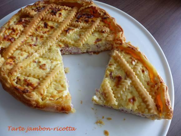 Tarte jambon-ricotta P1010097