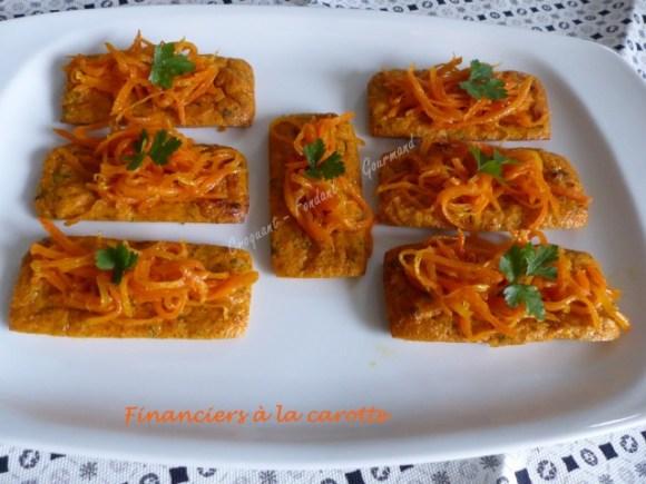 Financiers à la carotte P1010944