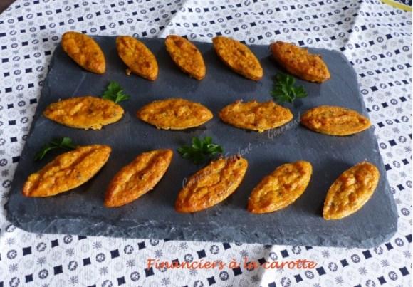 Financiers à la carotte P1010945