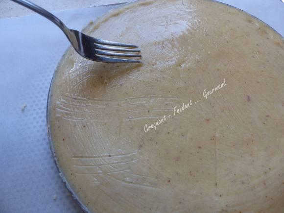 Gâteau basque au chocolat praliné P1020108