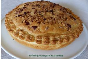 Tourte provençale aux blettes P1010220