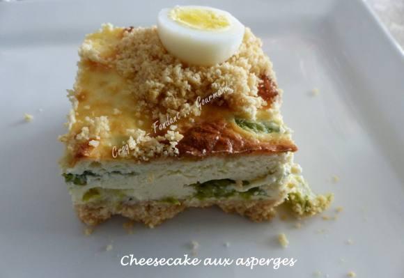 Cheesecake aux asperges P1030004