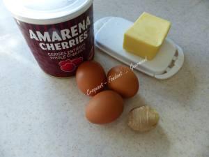 Cake aux cerises amarena P1030567