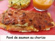 Pavé de saumon au chorizo Index DSCN9284