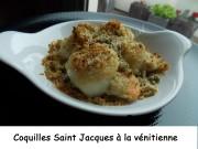 Coquilles Saint-jacques à la VénitienneIndex DSCN3634