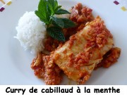 Curry de cabillaud à la menthe Index P1030522