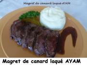 Magret de canard laqué AYAM Index P1030305