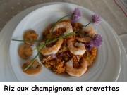 Riz aux champignons et crevettes Index DSCN4226