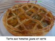 Tarte aux tomates jaune et verte Index DSCN5432