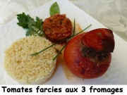 Tomates farcies aux 3 fromages Index P1030964