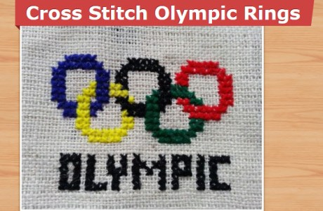 Cross Stitch the Olympic Rings