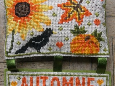 Celebrate Fall with this Lovely Harvest Cross Stitch