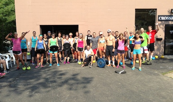 Saturday's 9am crew in full force!