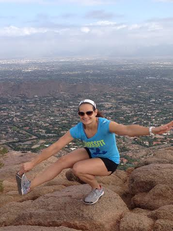 Hope Heather has a license for that pistol. (Camelback Mountain, Arizona)