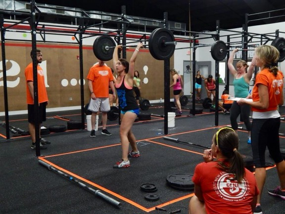 Bridget PR'd her clean and jerk this weekend!
