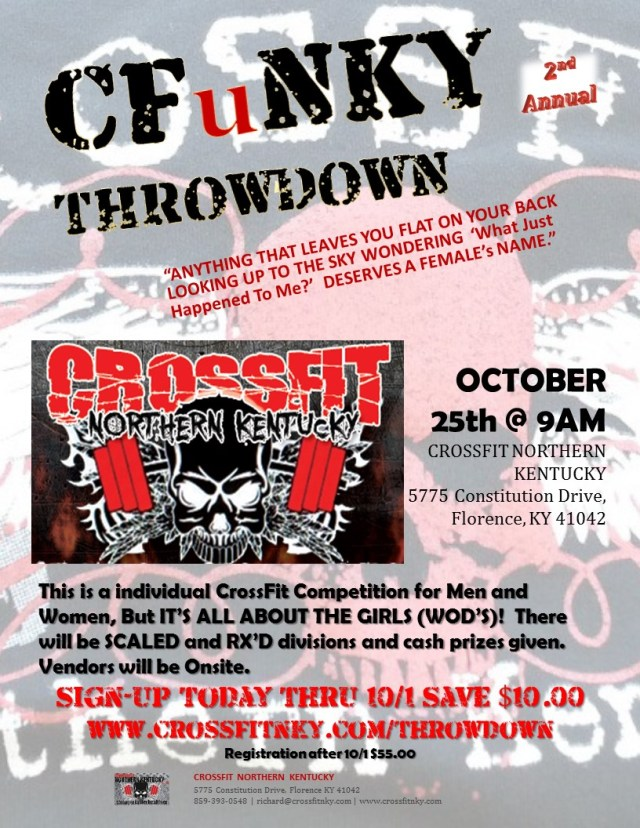 CFuNKY Throwdown 2014 Poster