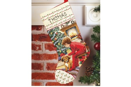 How to Make a Cross Stitch Stocking