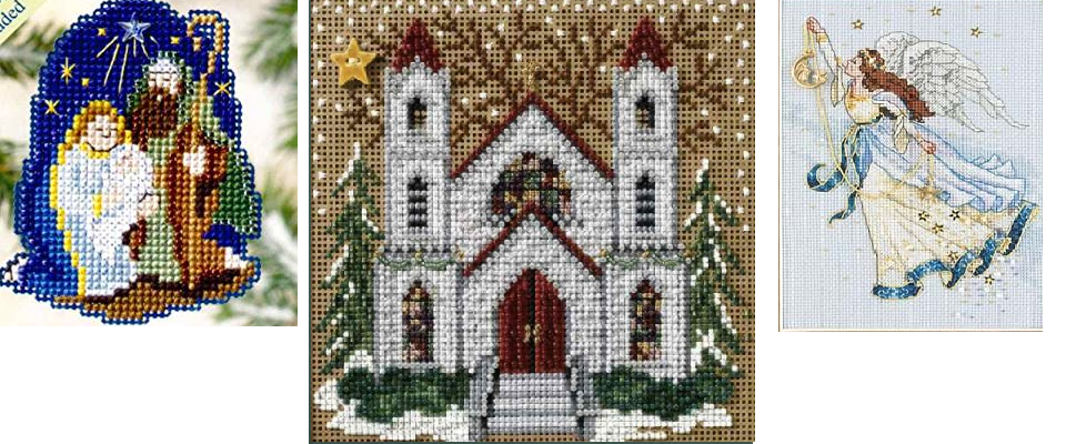 Christian Beaded Cross Stitch Kits and Patterns