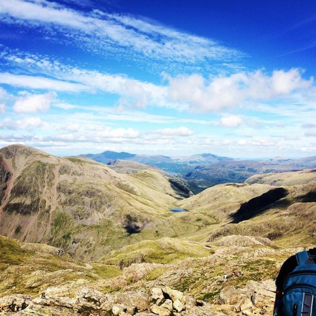 Views from the top of Scafell Pike crosstheuk thelensbible wildbritainhellip