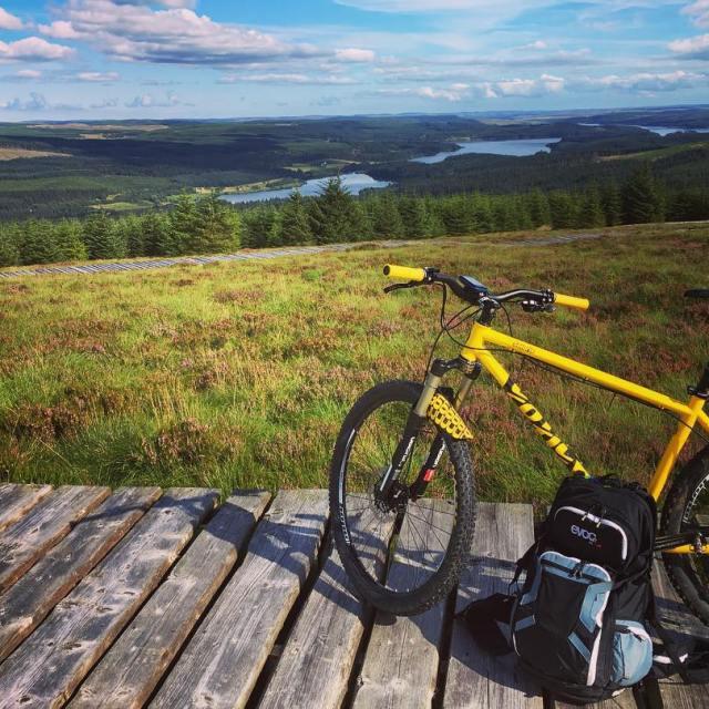 Yesterdays ride around Kielder Forest was phenomenal highly recommend ithellip