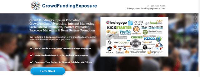 FREE CrowdFunding Exposure CrowdFunding Promotion Crowd Funding Marketing