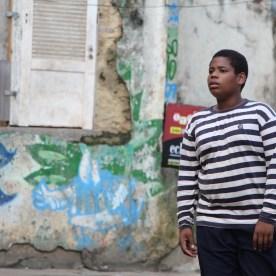 In der Favela treffen wir auch Jefferson.