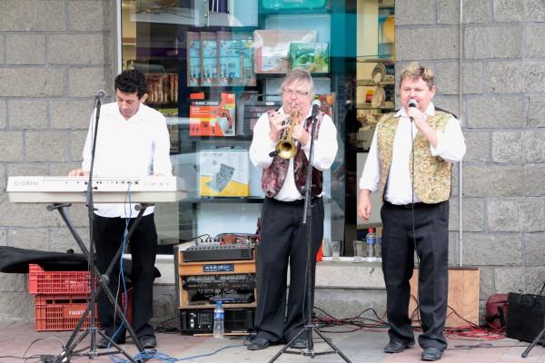 """Die brasilianische Band """"Ralf mit Heimatmusikanten"""""""