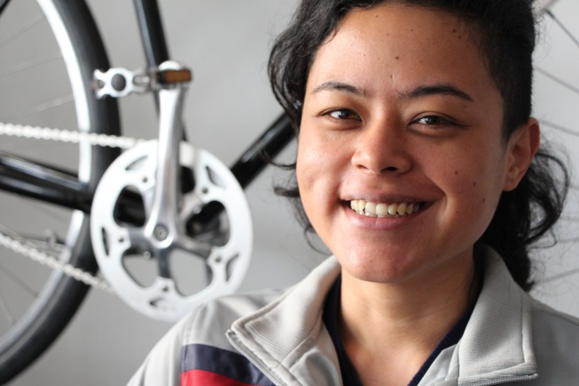Laura hat OGangorra gegründet: Bei ihr gibt's Fahrräder und Büroräume