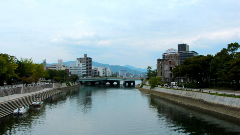So sieht es in Hiroshima heute aus.