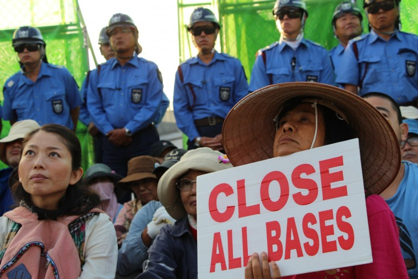 Proteste Okinawa
