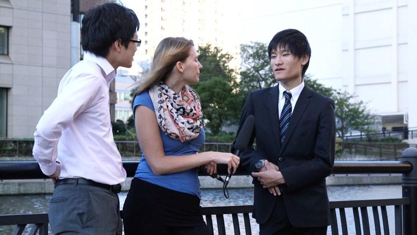 Japanische Studenten
